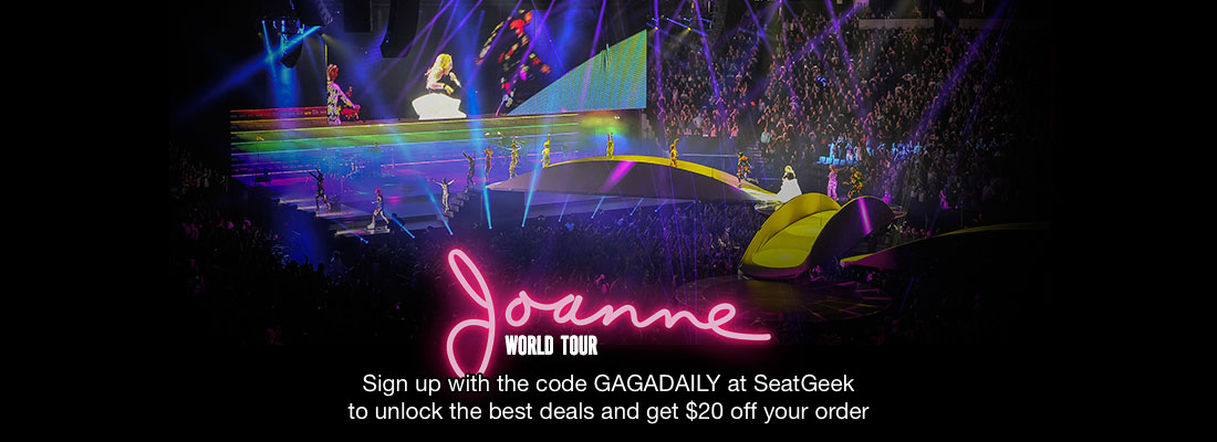 Joanne World Tour