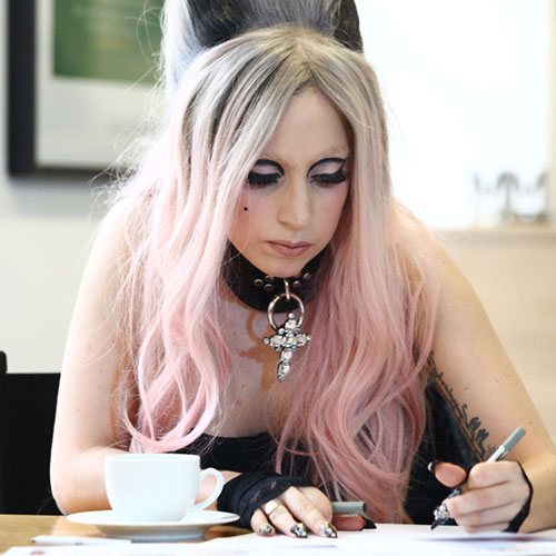 Lady Gaga - Writing credits lyrics