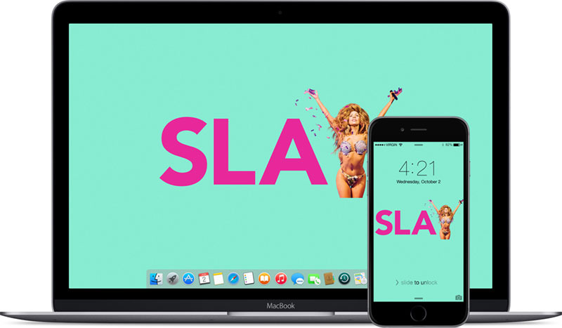 Lady Gaga - SLAY MAMA wallpaper