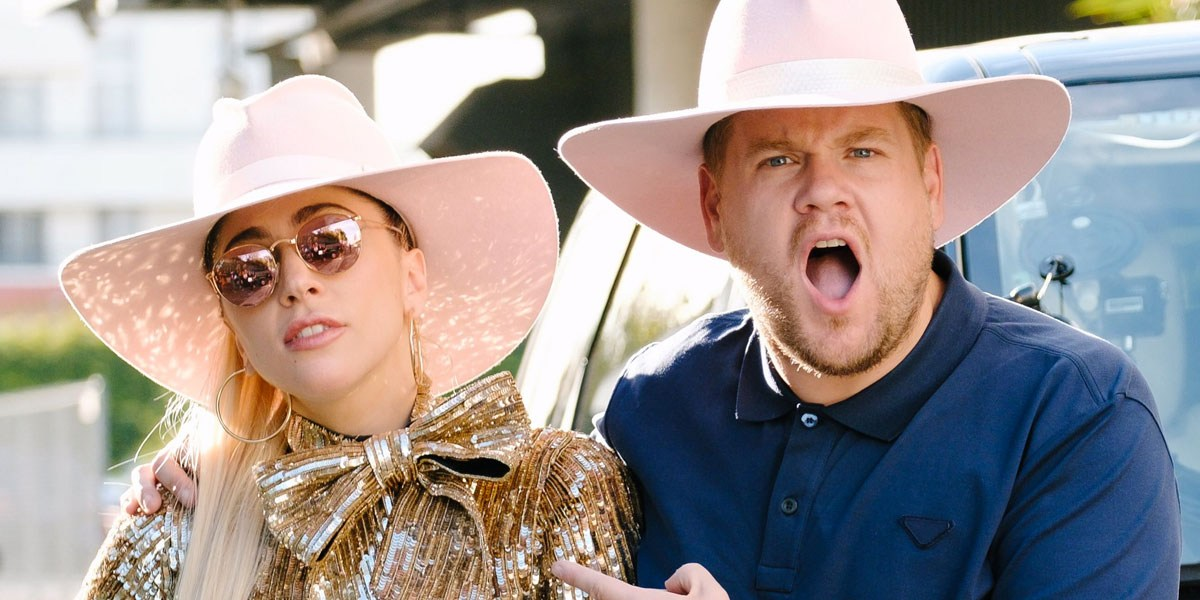 Watch Lady Gaga Join James Corden For 'Carpool Karaoke'