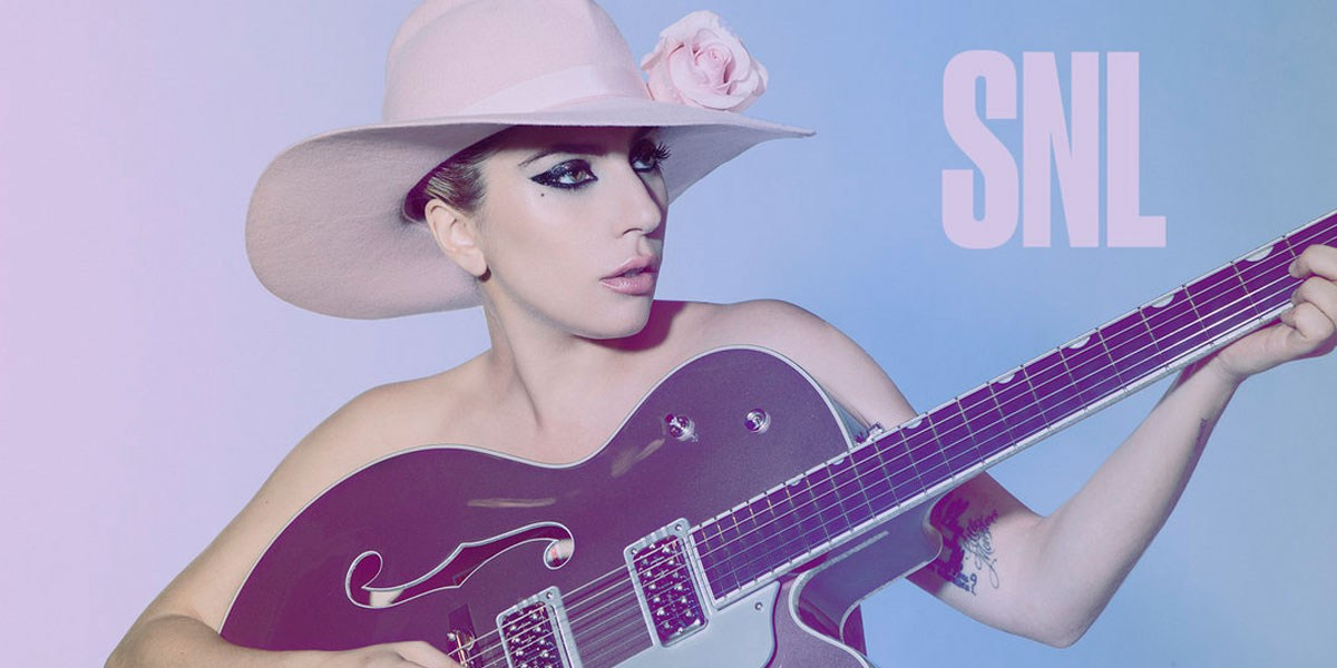 Lady Gaga Smokes 'Em All On 'Saturday Night Live'