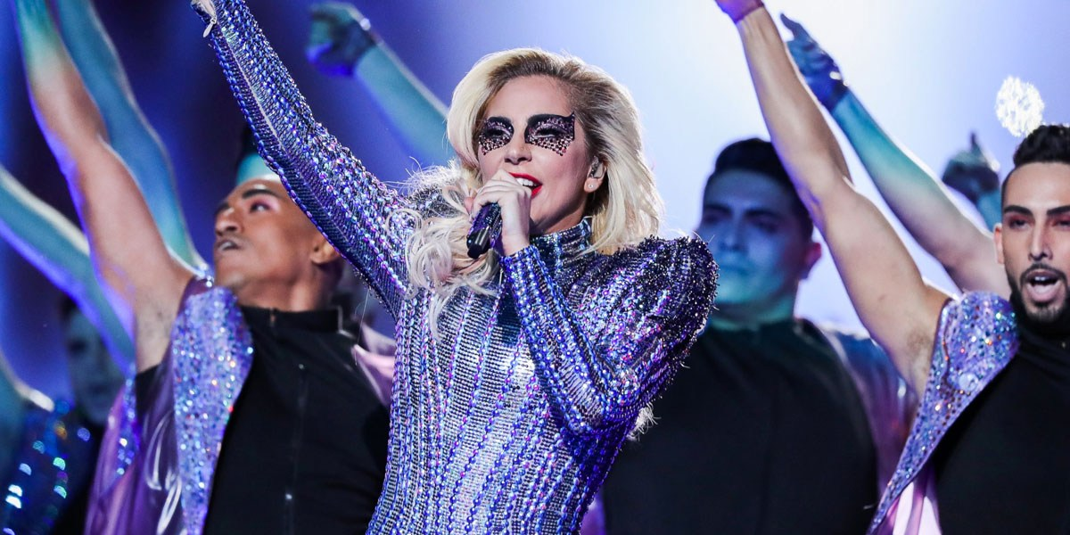 Listen To 'Studio' Version Of Lady Gaga's Super Bowl Halftime Performance