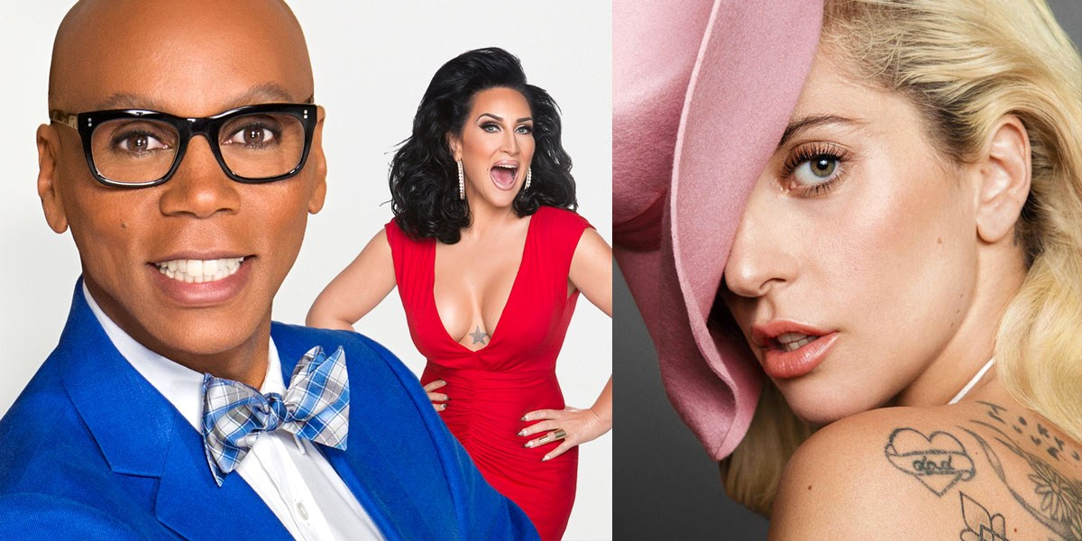 Lady Gaga Joins RuPaul And Michelle Visage On 'What's The Tee?'