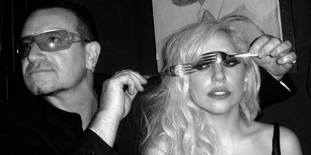 Lady Gaga Sings Background Vocals On U2's 'Songs of