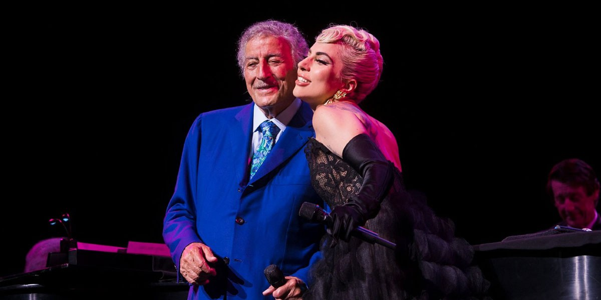 Lady Gaga Makes Surprise Appearance At Tony Bennett's Show In Virginia