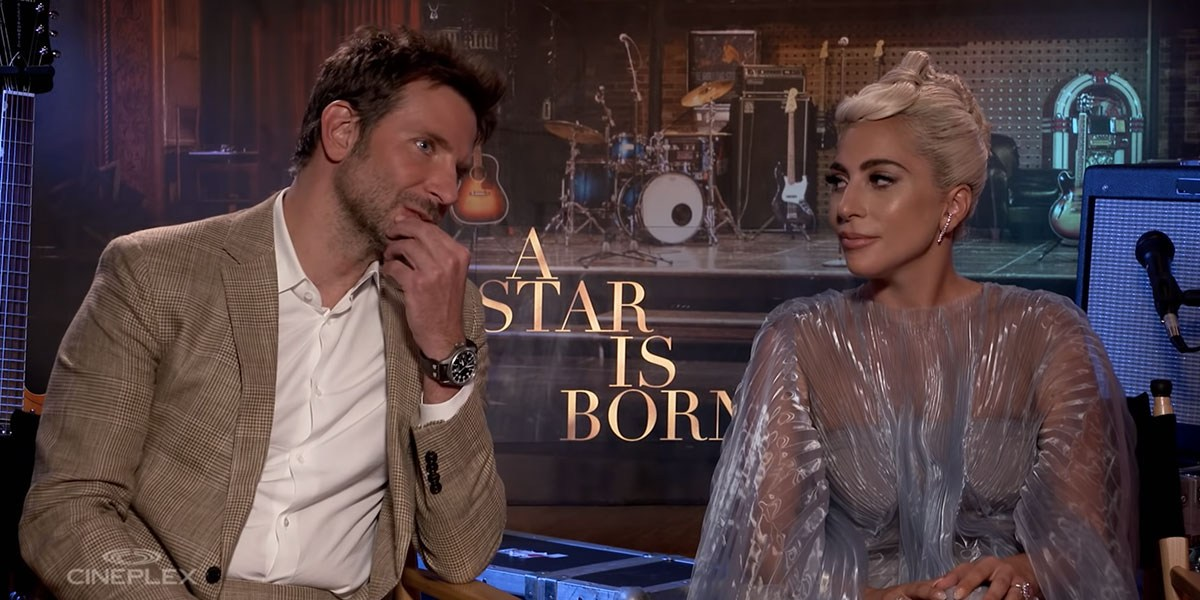 Lady Gaga And Bradley Cooper Interviewed At Toronto Film Festival