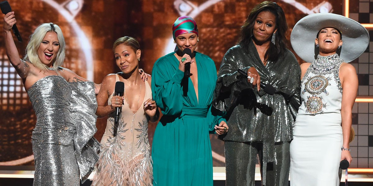 Lady Gaga, Michelle Obama, Jennifer Lopez Kick Off 2019 Grammy Awards