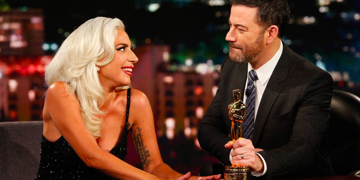 Lady Gaga Addresses Bradley Cooper Romance Rumors On Jimmy Kimmel