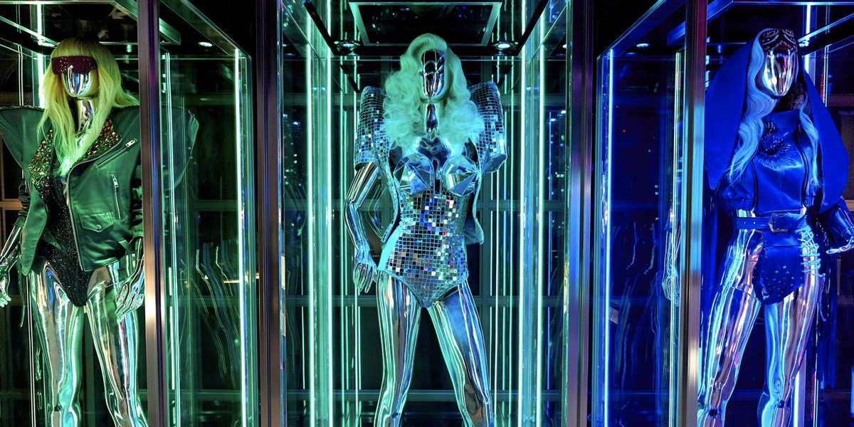 First Look Inside Lady Gaga's 'Haus Of Gaga' Exhibition