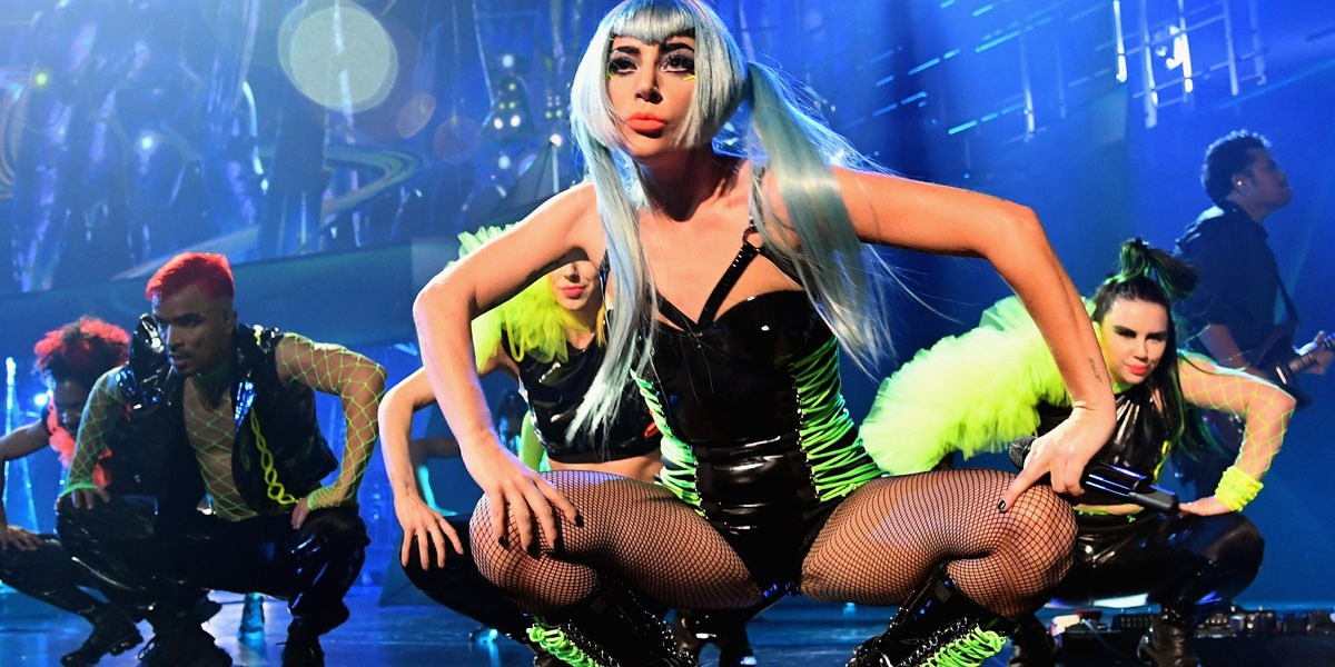 Lady Gaga Delivers Enigmatic Performance And Hilarious Quotes To 'Software People'
